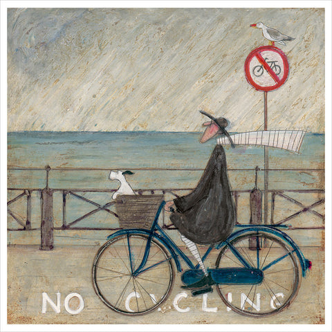No Cycling by Sam Toft