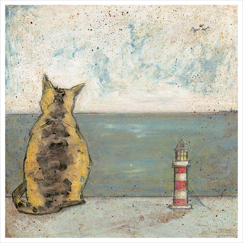 Sea Cat by Sam Toft