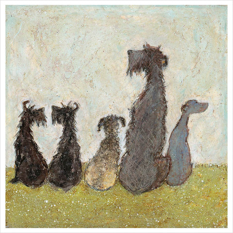 Watching Cats Go By by Sam Toft