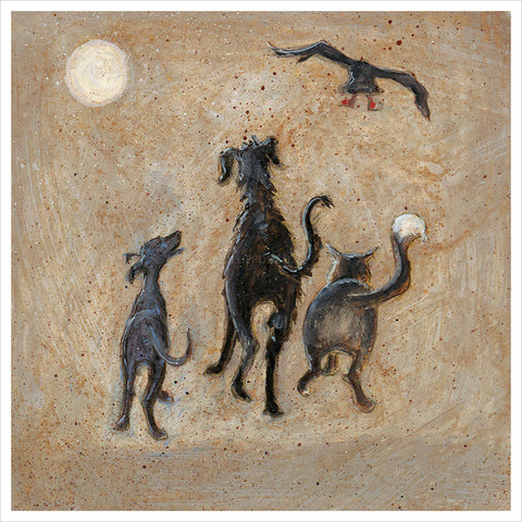 A Night Out with the Beasties by Sam Toft