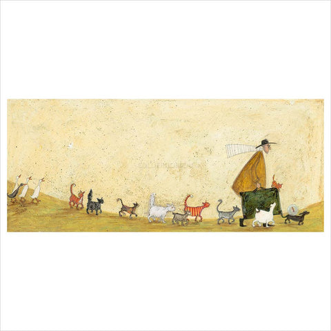 Another Suitcase of Sardine Sandwiches by Sam Toft