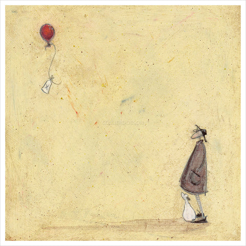 A Note to Say by Sam Toft