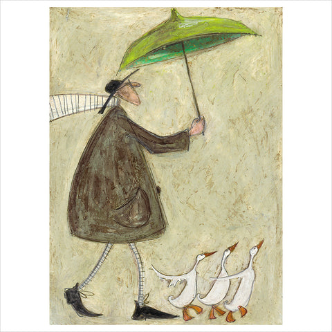 Three Mad Ducks by Sam Toft
