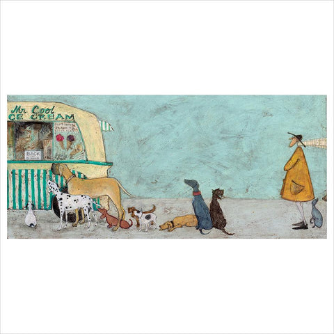 Waiting for Mr Cool by Sam Toft