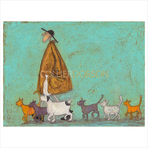 Cat Walk by Sam Toft