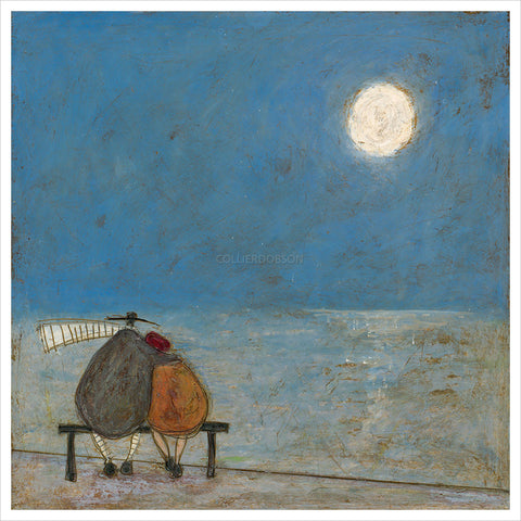 It's Only a Pretty Moon by Sam Toft