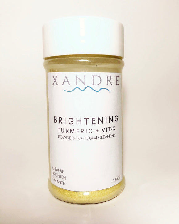 Brightening Cleanser Turmeric+Vitamin C Powder to Foam