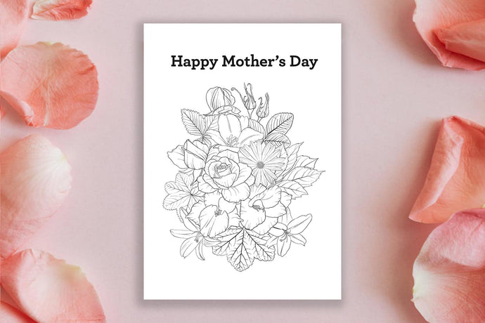 Mother's Day Colouring Printables
