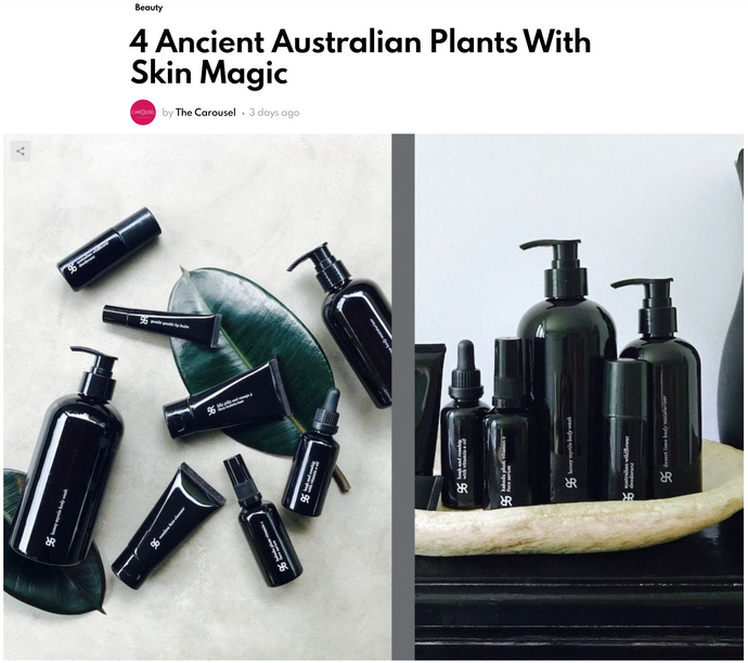4 Ancient Australian Plants With Skin Magic