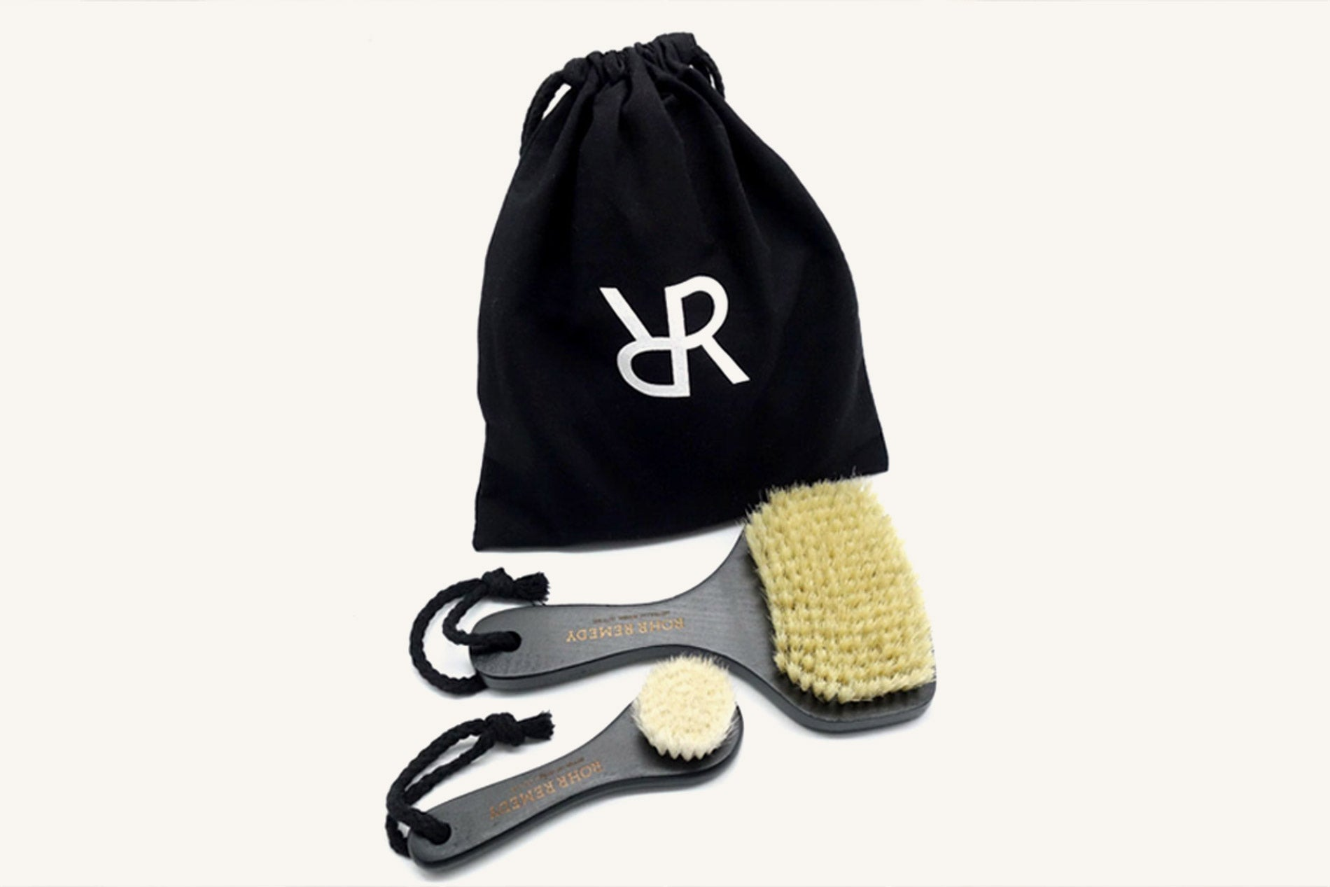 Rohr Remedy Beauty Routine Body Face Brush