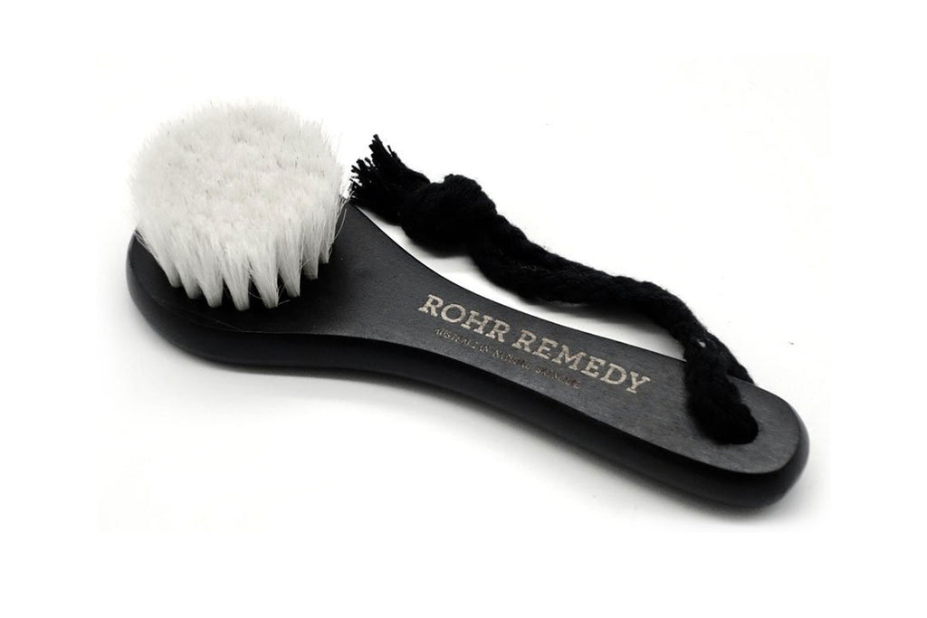 Natural, eco friendly face cleanser dry brush