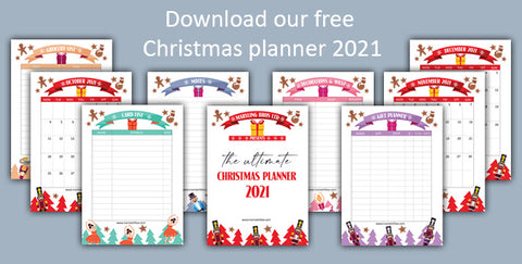 download our free christmas planner