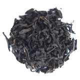 smaple of black tea leaves