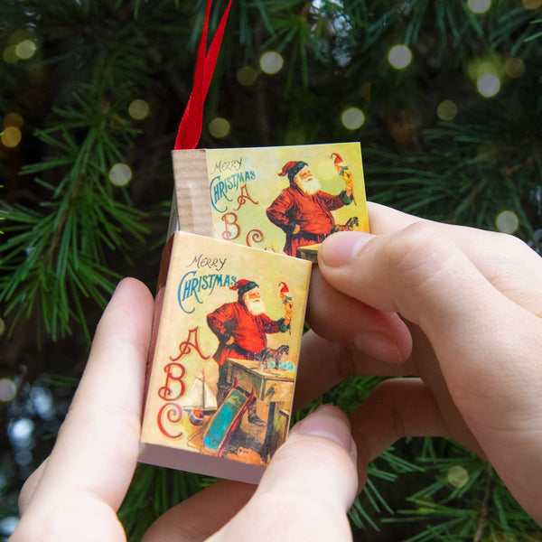 Tree Decoration Christmas ABC Victorian Poem