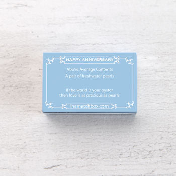 Happy Anniversary In A Matchbox
