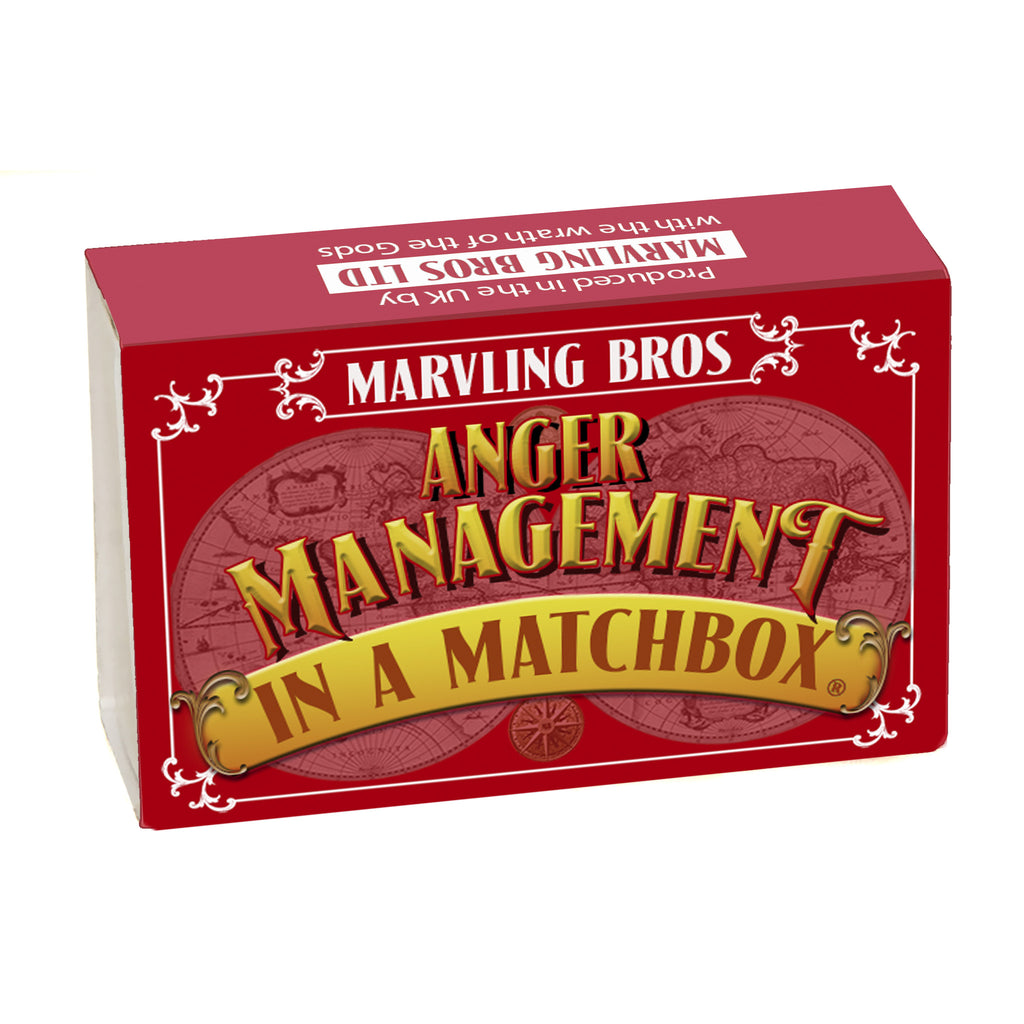 Anger Management In A Matchbox - In A Matchbox