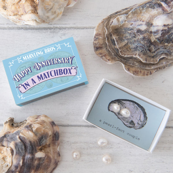 Happy Anniversary Message And Freshwater Pearls Gift
