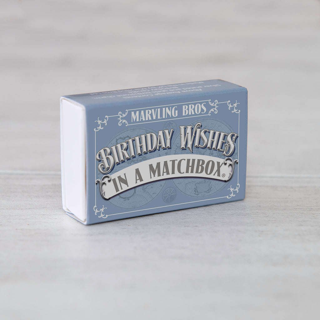 February Birthstone Gift In A Matchbox