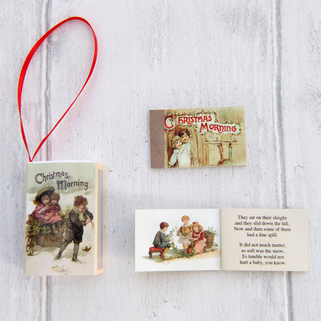 Christmas Tree Decorations With Six Victorian Poems