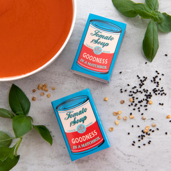 Grow Your Own Tomato Soup Seed Kit In A Matchbox