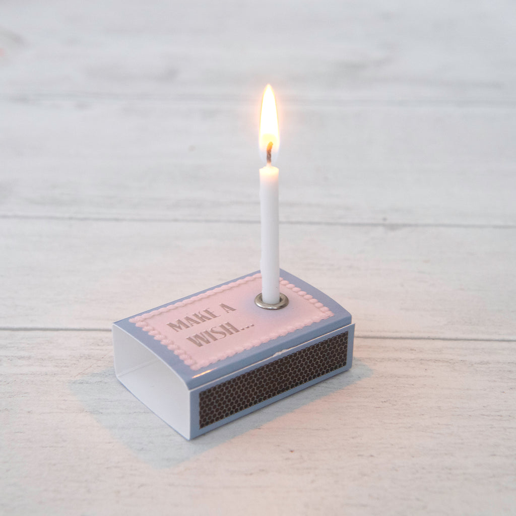 March Birthstone Gift In A Matchbox