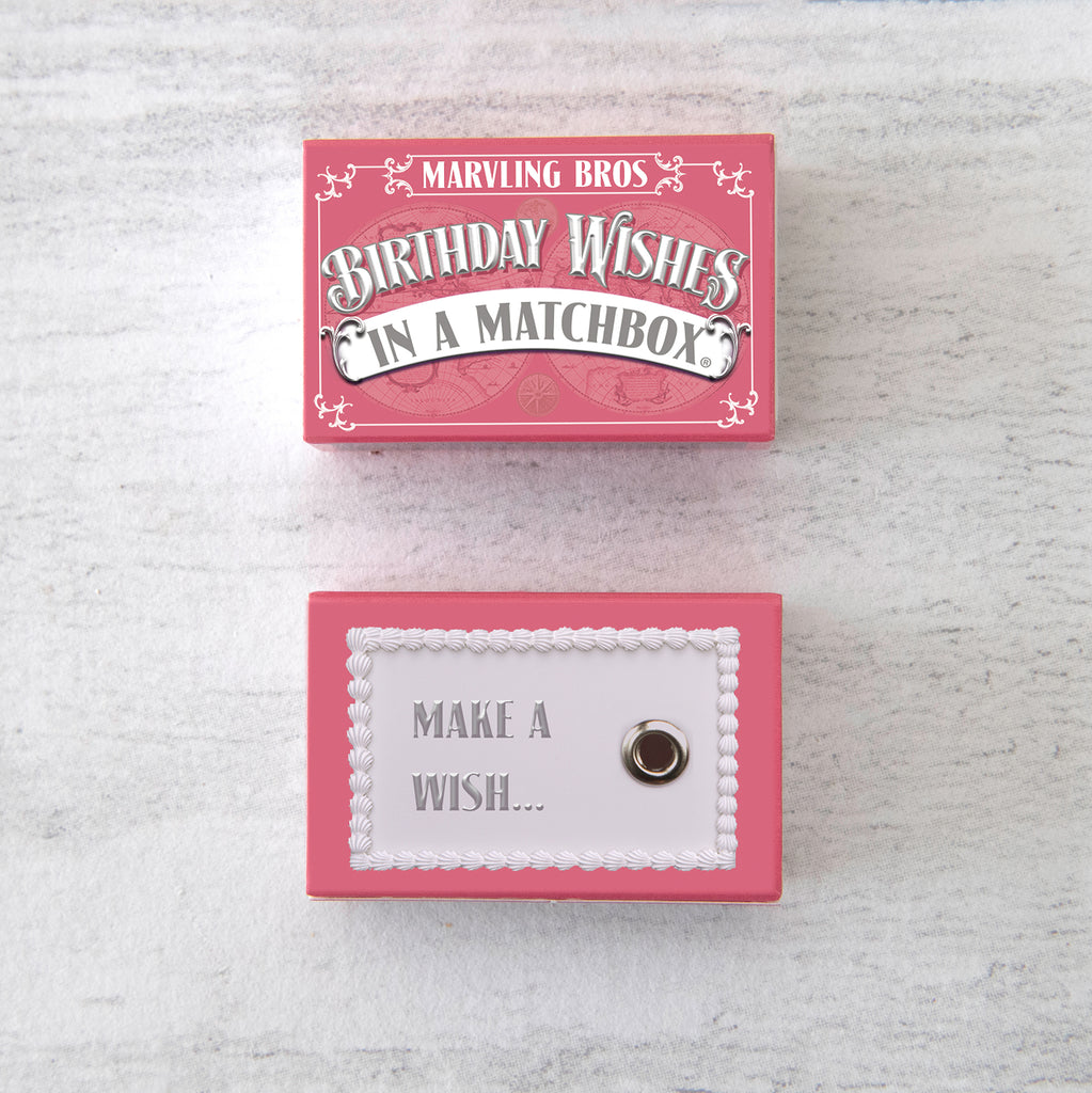 January Birthstone Gift In A Matchbox