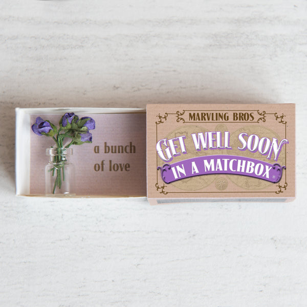 Get Well Soon In A Matchbox - In A Matchbox