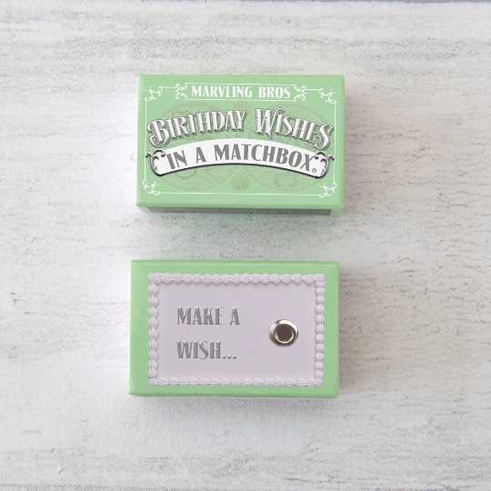 August Birthstone Gift In A Matchbox