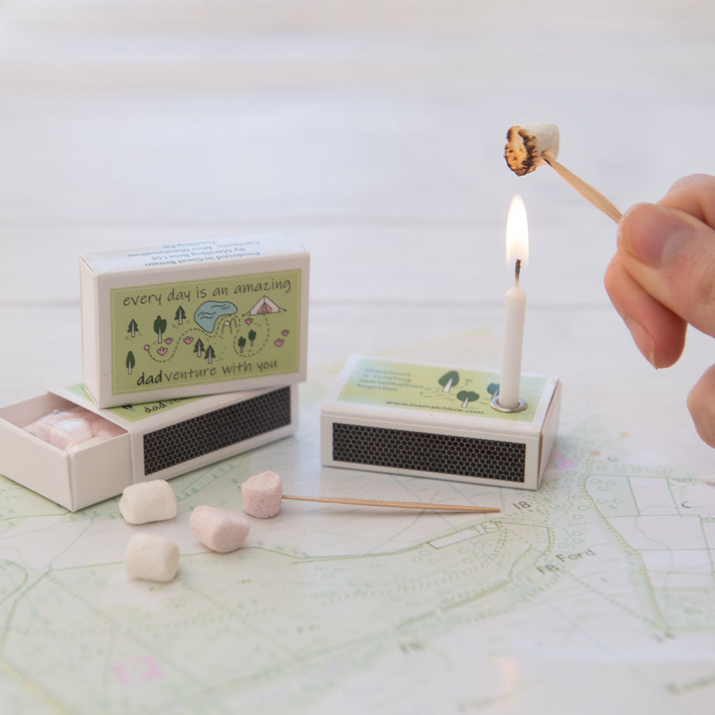 Father's Day Mini Marshmallow Toasting Kit