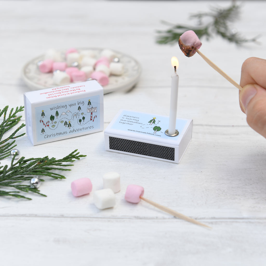 Christmas Mini Marshmallow Toasting Kit