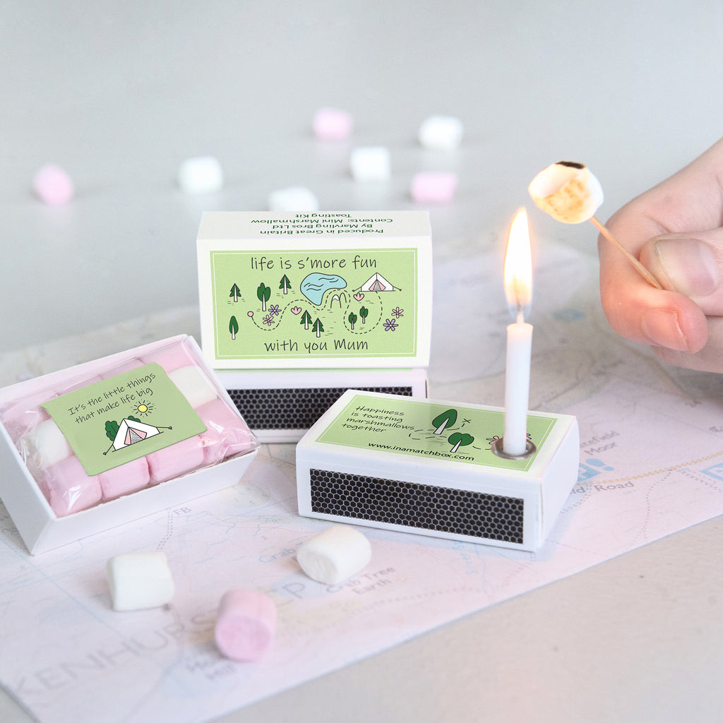 Mini Marshmallow Toasting Kit For Mum