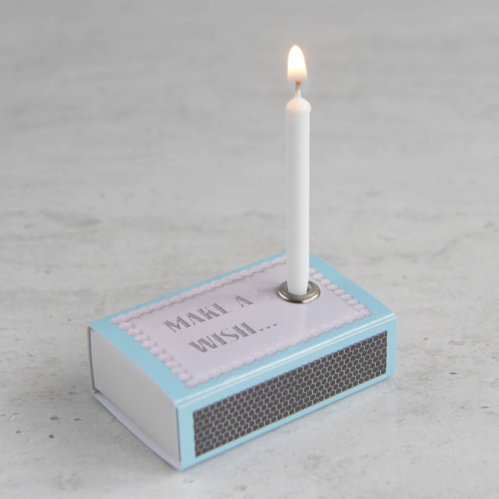 Happy Birthday Greeting In A Matchbox, top birthday gifts for her