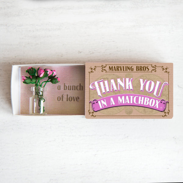 Thank You In A Matchbox
