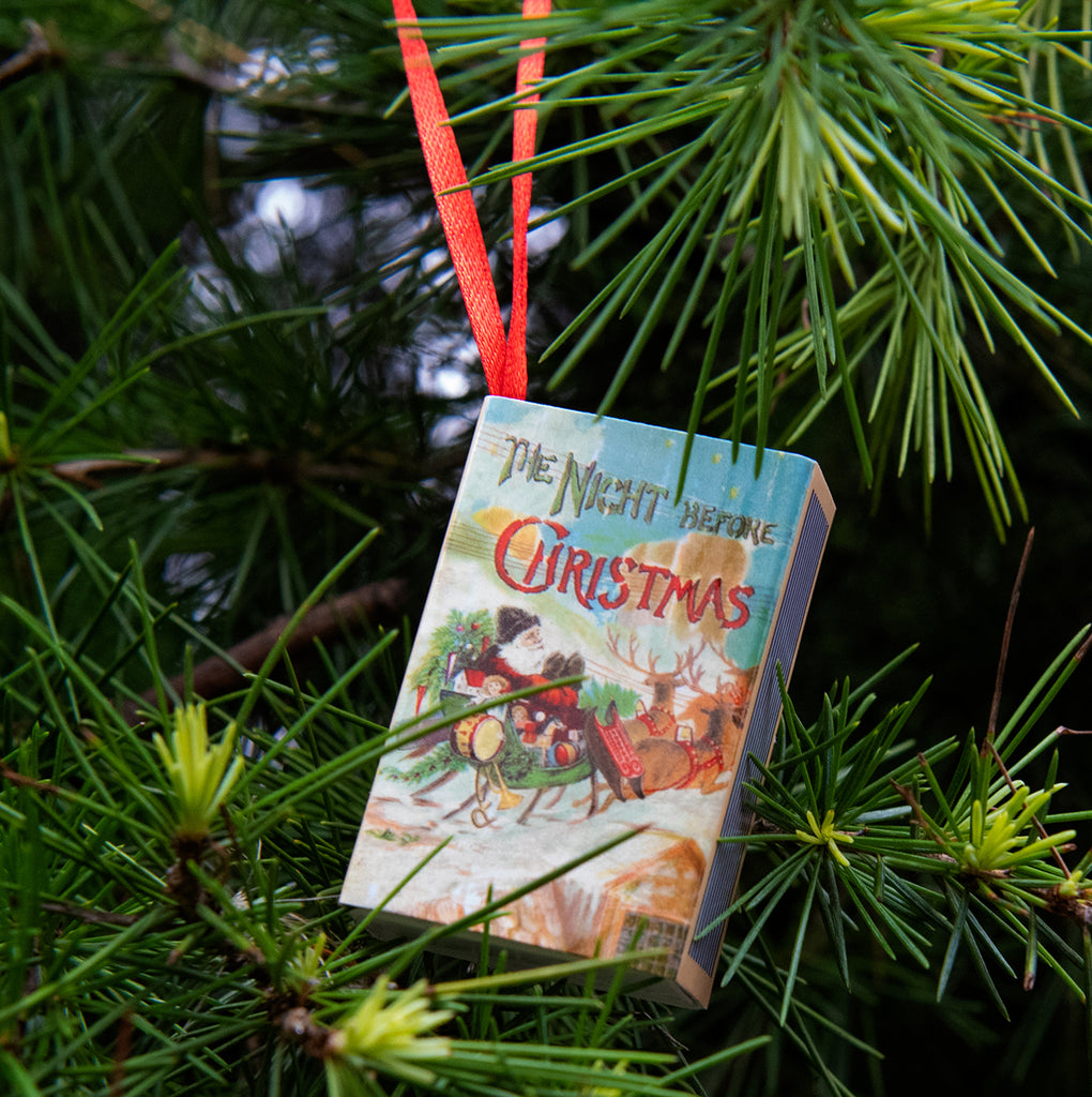 Tree Decoration 'Twas The Night Before Christmas' Victorian Poem