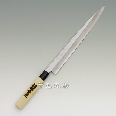 Honyaki Mt.fuji Sashimi (Yanagi) Kiritsuke knife mirror finished