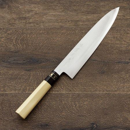 JIKKO Mille-feuille Sashimi knife VG-10 Gold Stainless Steel Japanese