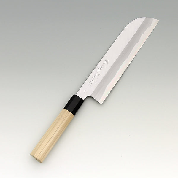 JIKKO Kamausuba Montan Bleu2 carbon steel Vegetable Knife Japanese knife - JIKKO Japanese Kitchen Knife Cutlery