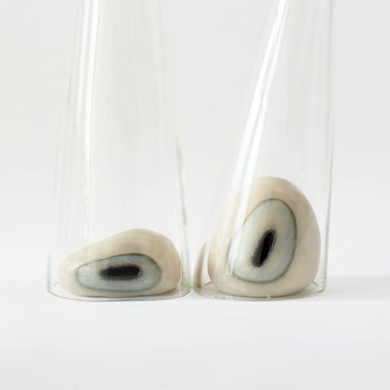 EYES IN GLASS TUBES