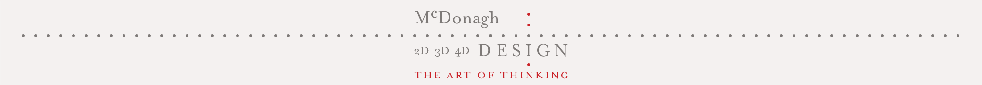 Natalie Mc Donagh - The art of design