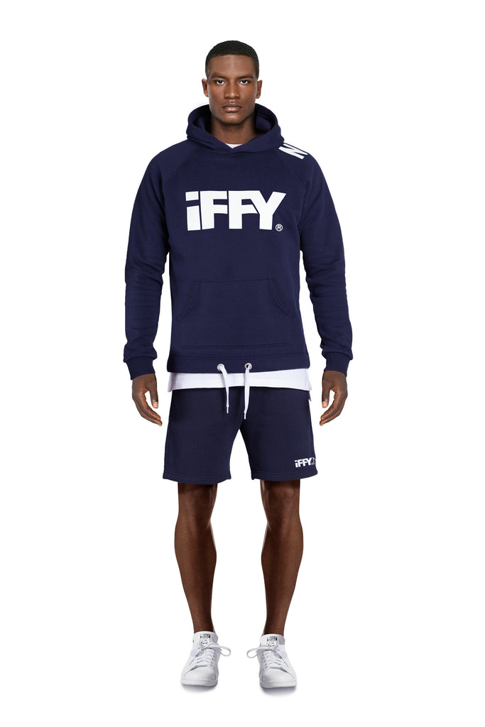 IFFY NY Cooper suit in navy blue (Hoodie)