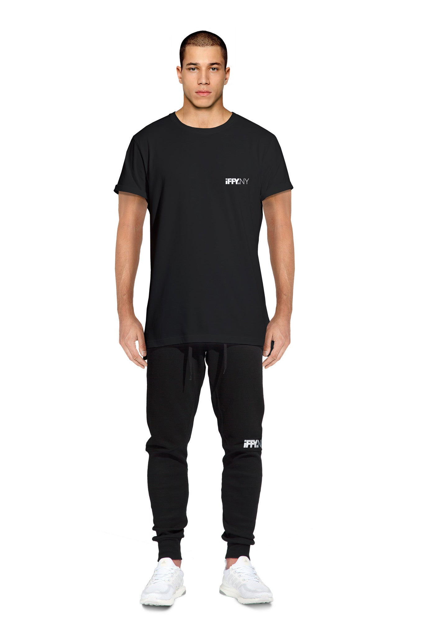 IFFY NY Clarke T-shirt in black
