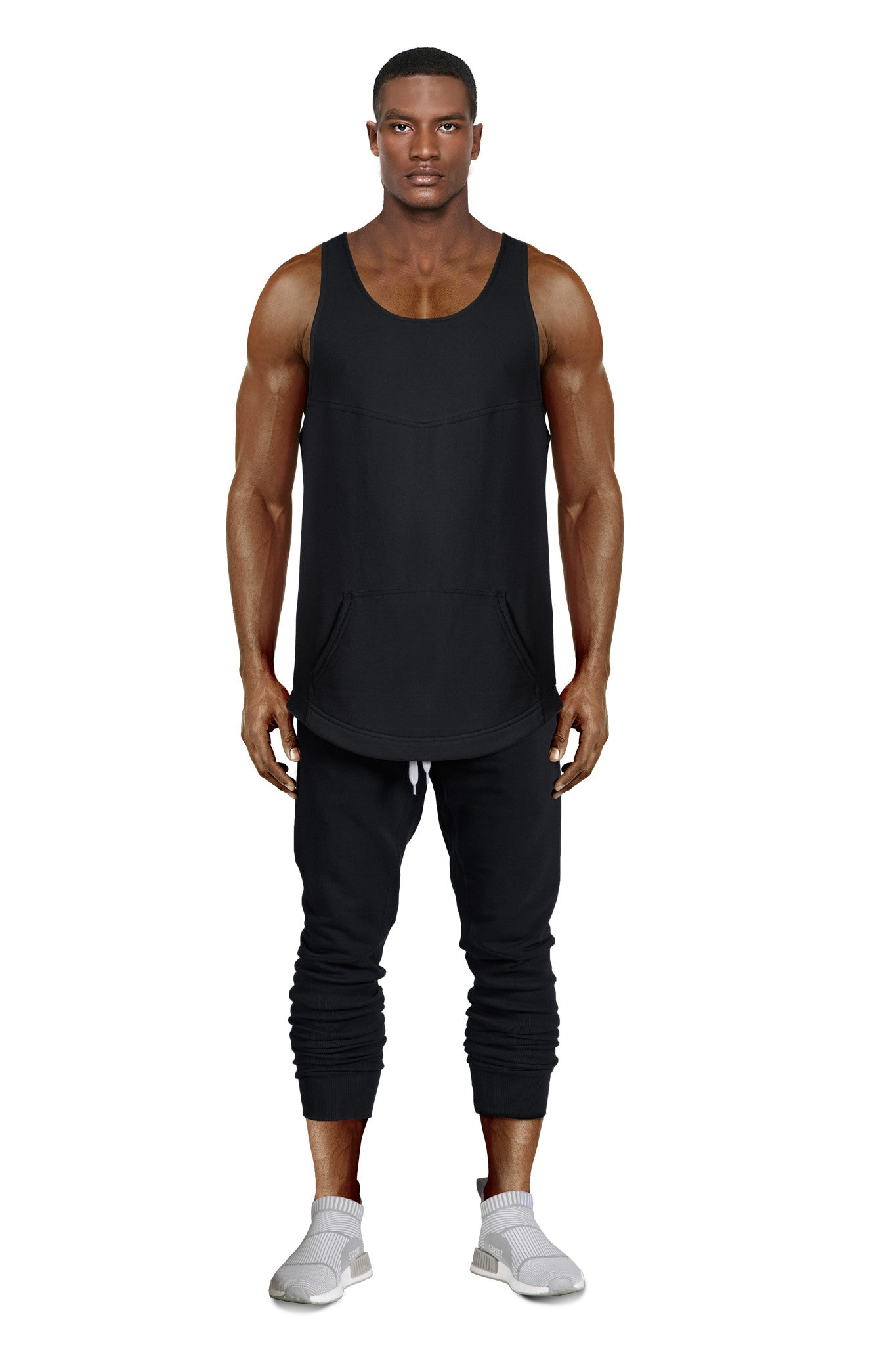 IFFY NY Charlton vest in black