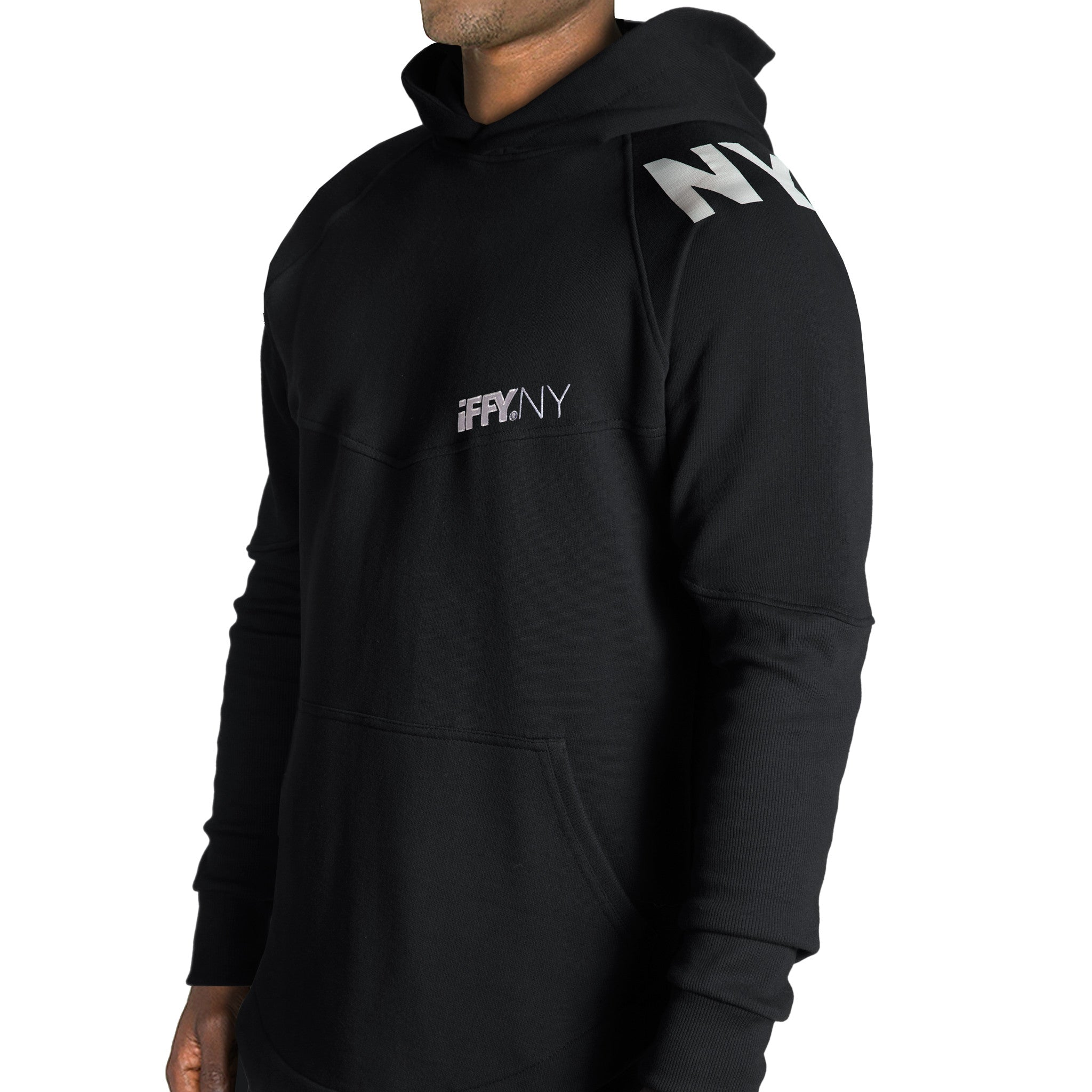 IFFY NY Hunter hoodie in black