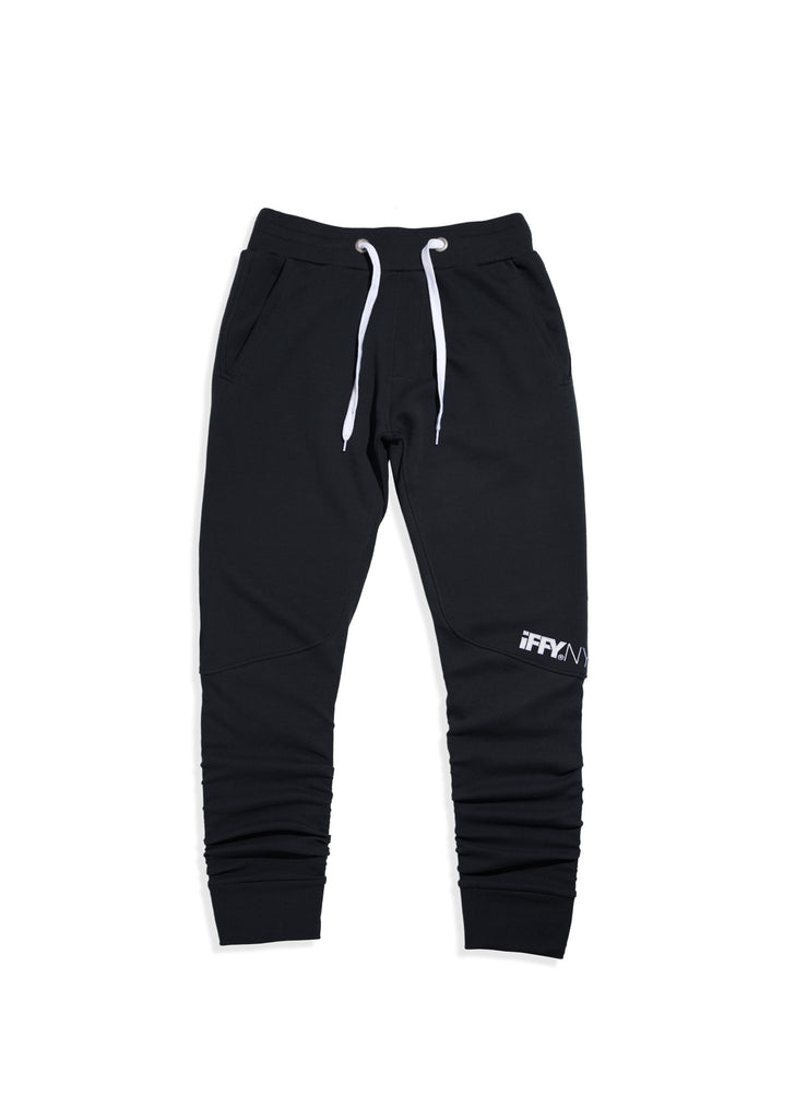 IFFY NY Hunter joggers in black