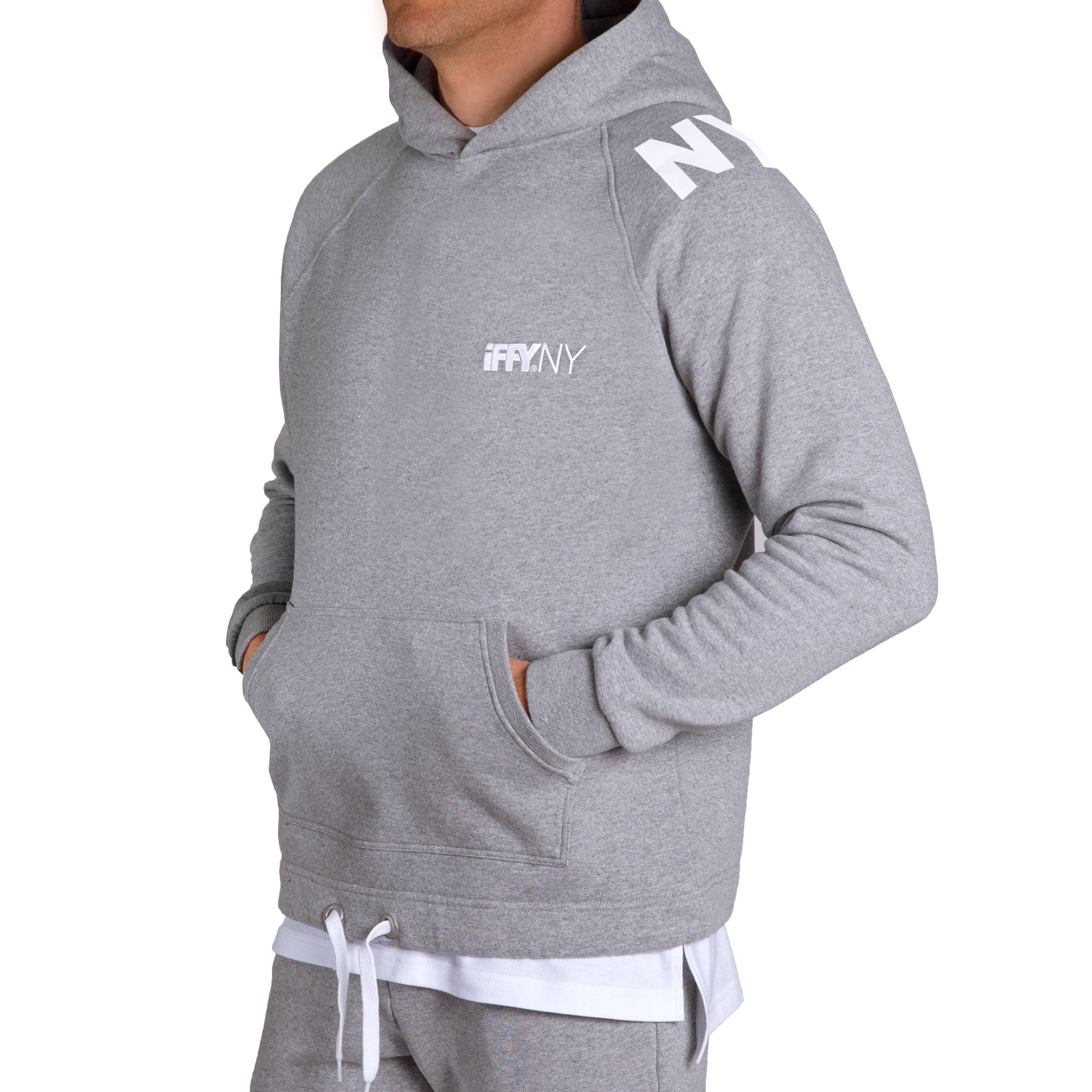 IFFY NY Cooper Hoodie in grey