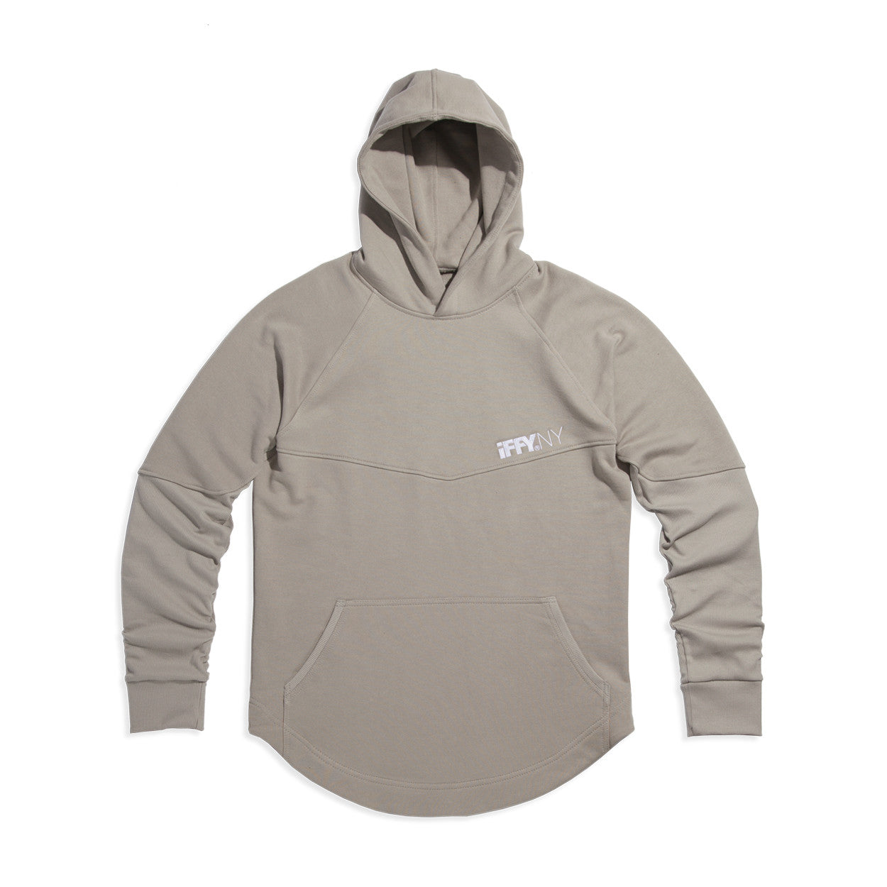 IFFY NY Hunter hoodie in stone