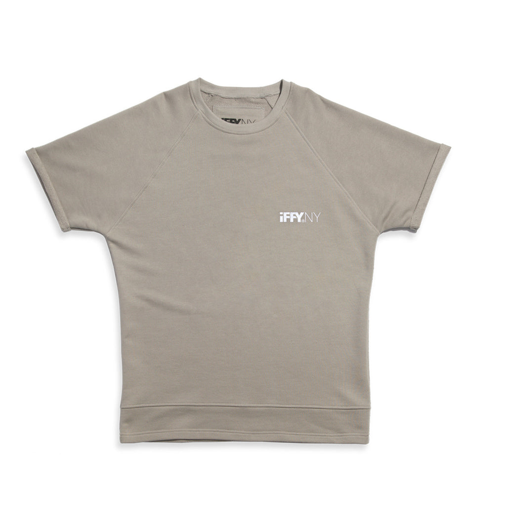 IFFY NY Giles T-shirt in stone