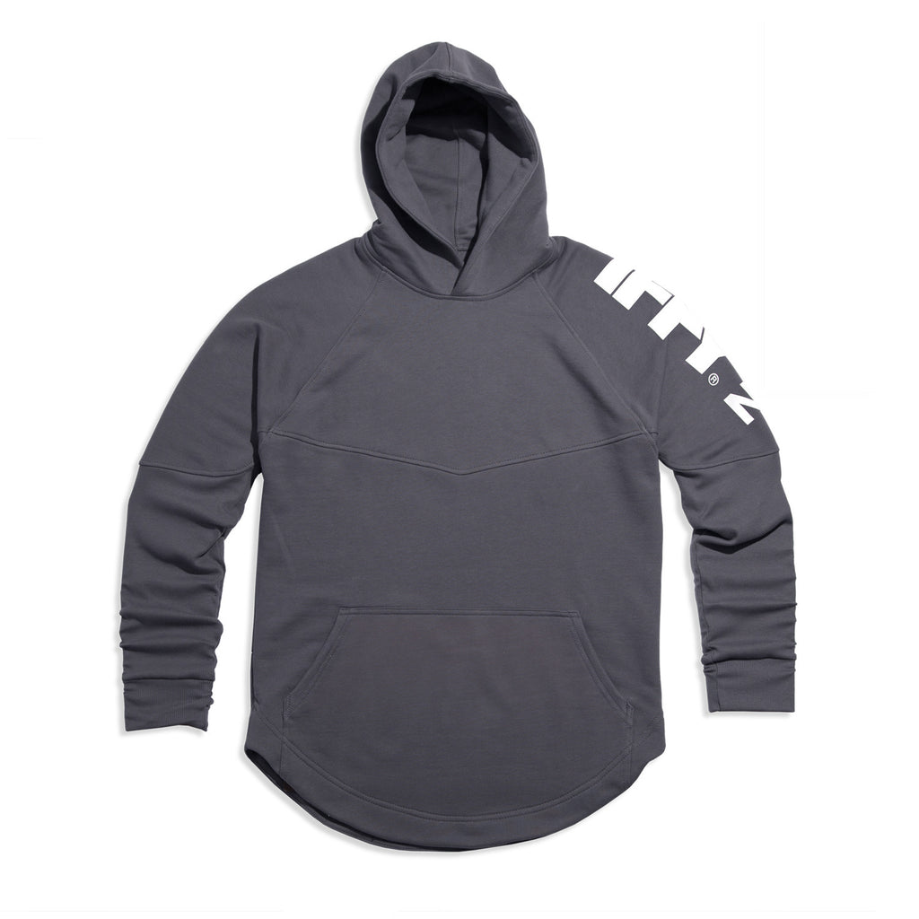 IFFY NY Hunter Hoodie in sharkskin grey