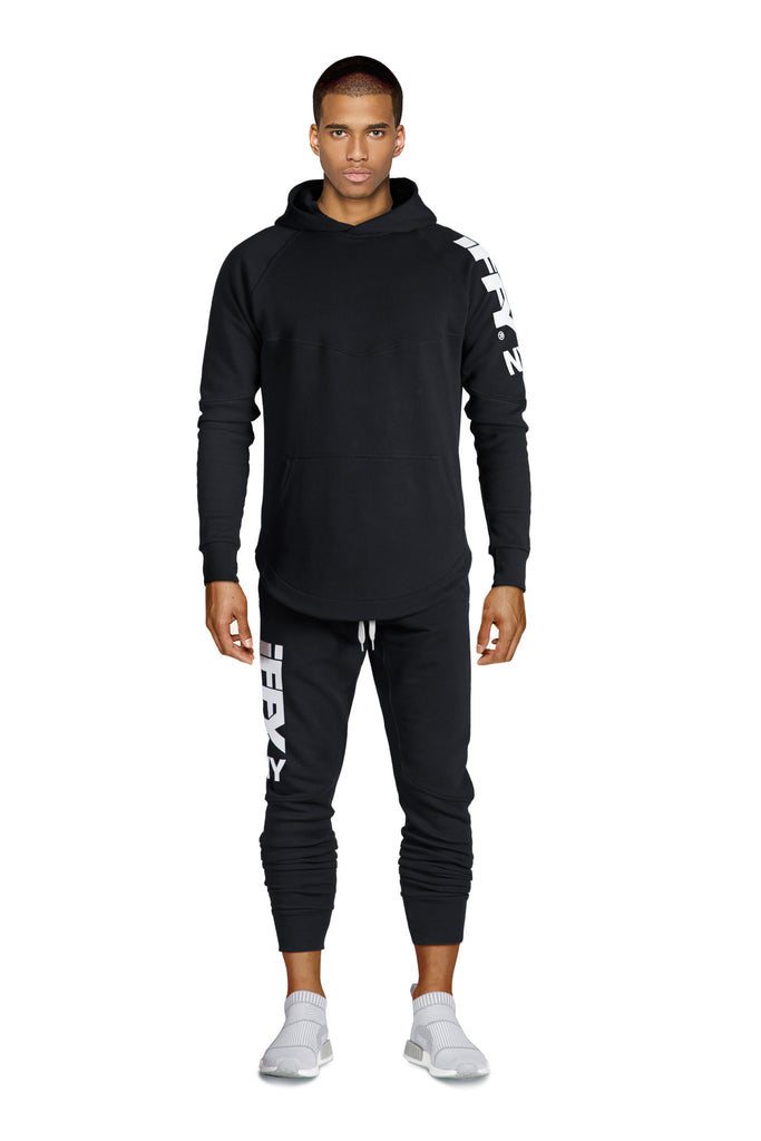 IFFY NY Hunter suit in black (Hoodie)