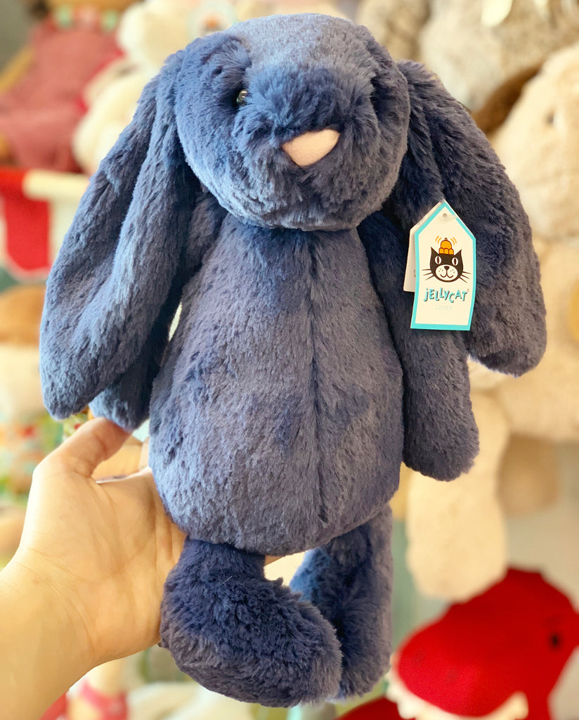 Jellycat Bashful Navy Bunny (medium)